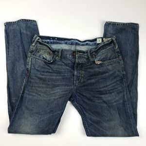 Allsaints Spitalfields Rugged Iggy Runner Jeans